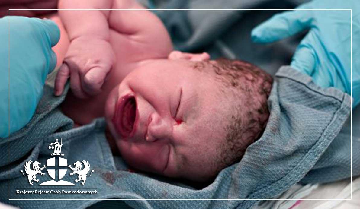 krwiak u noworodka na główce po porodzie