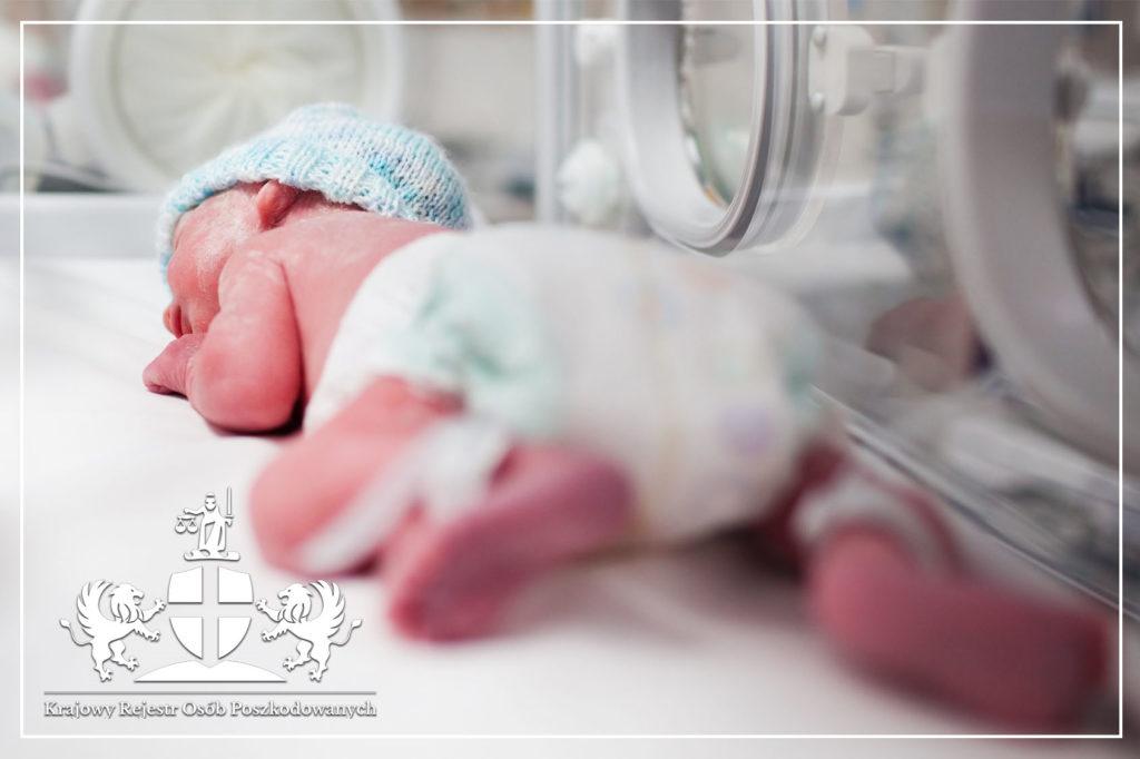 Transport chorego noworodka