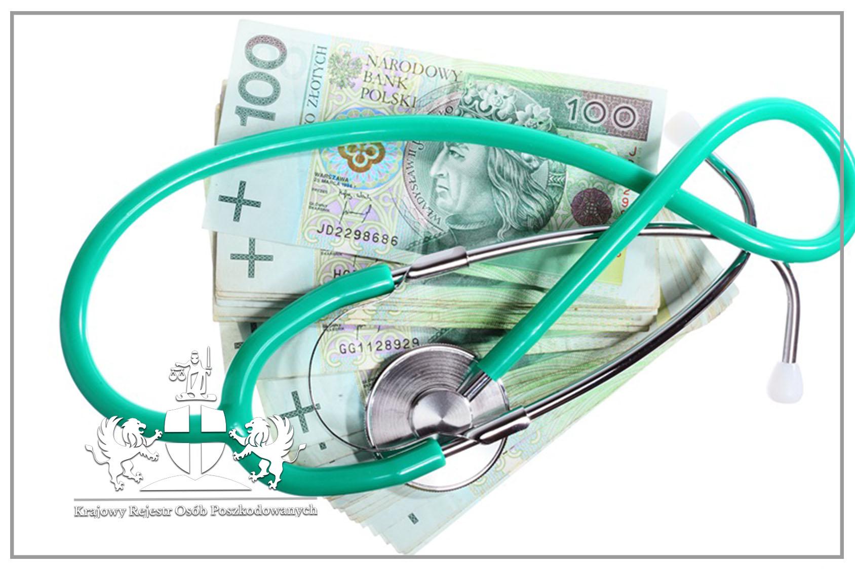 Wysokość odszkodowania za błąd lekarski