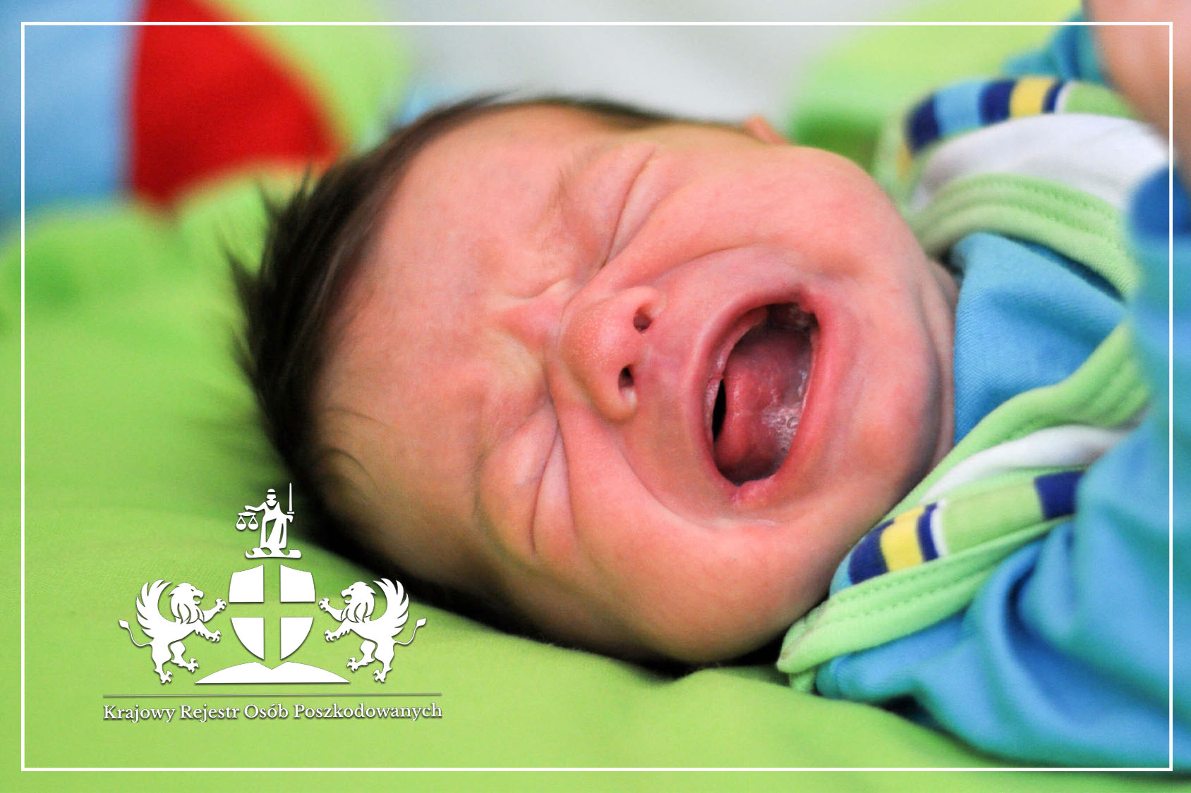 Dziecięce porażenie mózgowe niemowlę